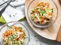 Creamy Coleslaw - Krautsalat ganz amerikanisch - und mit Rotkohl?