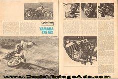 1974 Yamaha MX175-A Motocross Road Test