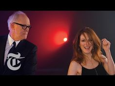 9 Kisses: John Lithgow & Julianne Moore / 18 of the year's best actors pucker up for the magazine's Great Performers issue. Watch them all here: http://nyti.ms/9-kisses (Photo/Video: Elaine Constantine)