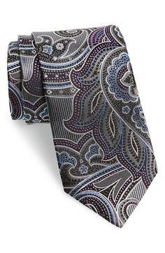 Richards Paisley Silk Tie (X-Long) available at Modern Mens Fashion, Designer Ties, Paisley Tie, Tie Accessories, Real Men, Modern Man, Pure Silk, Pocket Square, Silk Ties
