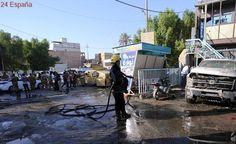 Al menos 30 muertos en un doble atentado de Daesh en el centro de Irak