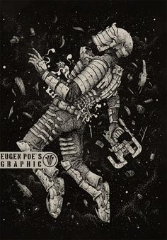 Just a fan art for Dead Space video game series. 18x26 inches