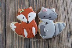 This cute fox cutter from Ann Clark Cookie... - Clough'D 9 Cookies & Sweets