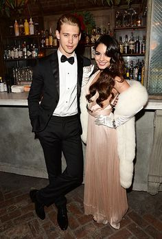 Glam alert! Vanessa Hudgens and boyfriend Austin Butler dressed to the nines for her 25th birthday!
