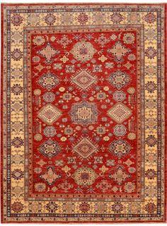 Red Oriental Kazak Rug 4 10 X 6 Ft No 10630 Http Alrug Html Rugs Pinterest See