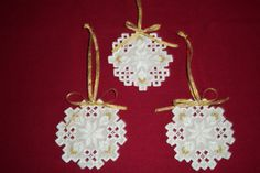 Gallery.ru / Фото #102 - Очень красиво, но не мое - maxara Drawn Thread, Hardanger Embroidery, Needful Things, Xmas Crafts, Needlepoint, Cross Stitch Patterns, Needlework, Crochet Earrings, Projects To Try