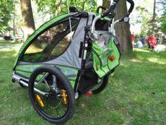 Amortyzowana przyczepka rowerowa dla dzieci Qeridoo Sportrex 1 - test