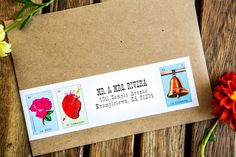 pretty neat idea for save-the-dates, wedding invite, or thank you cards
