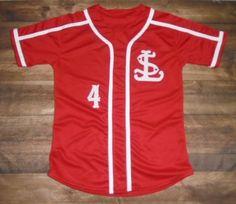 SL Baseball designed this custom jersey and Hobbs Sporting Goods in Gainesville, GA created it for the team! http://www.garbathletics.com/blog/sl-baseball-custom-jersey/ Create your own custom uniforms at www.garbathletics.com!