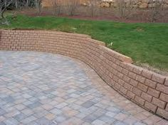 sloped garden and block paving designs - Google Search