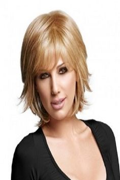 Chic Layered Shaggy Hairstyle 300x300 7 Shag Hairstyles for Medium Length Hair