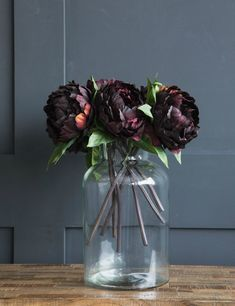 Abigail Ahern Plum Peony at Rose & Grey
