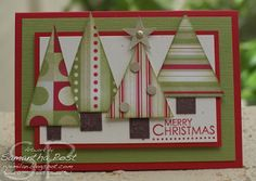 Ryemilan's Ramblings: Dashing Christmas Trees