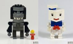 LEGO King Kong & Stay Puft Marshmallow Man