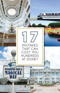 Disney World can be expensive! There are a lot of ways to accidentally spend more than you need to. Here is a list of tips, tricks, and mistakes to avoid that can help you do Disney World on a budget. Authorized Disney Vacation Planner, Disney World Vacation Planning, Disney Vacation Club, Disney Planning, Disney World Trip, Disney Cruise Line, Disney World Resorts, Disney Vacations, Disney World Tips And Tricks