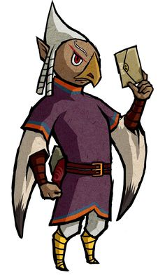 View an image titled 'Quill Art' in our The Legend of Zelda: The Wind Waker HD art gallery featuring official character designs, concept art, and promo pictures. Wind Waker, Character Design References, Character Art, Character Creation, Game Design, Zelda Baby, The Secret Of Kells, Bird People, Link Art