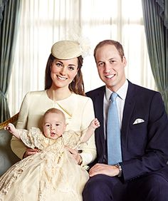 Prince George Looks Fabulous In A Dress In His Official Christening Portraits #Refinery29