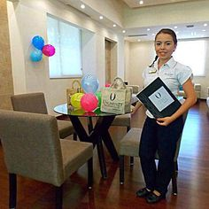 #UnlimitedVacationClub members staying at #NowSapphire are welcomed by Wendy at the EXCLUSIVE members-only #ULounge from 8am to 5pm! #MemberBenefit #Vacation #NowSapphireRivieraCancun #Mexico