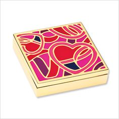 ESTEÉ LAUDER EVELYN LAUDER DREAM PERFUME COMPACT Outside: a colorful handcrafted enamel compact ($50; esteelauder.com). Inside: heavenly solid perfume in a lively floral mix of lily, peony, jasmine, and rose. One hundred percent of the suggested retail price will be donated to BCRF.