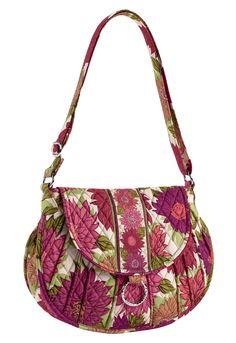 Dahlia fabric hand bag