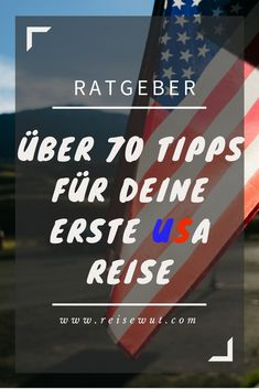 Wissenswertes, Tipps & Infos für Deine USA Reise Over 70 tips and information for the first USA trip. What should be considered in road traffic, or in the restaurant, or in the language?Link z. Europe Travel Tips, Travel Usa, Travel Guides, Best Places In Europe, Cool Places To Visit, Road Trip Usa, Usa Trip, Usa Roadtrip, Usa Holidays