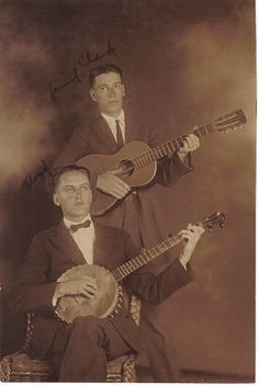Floyd and Clark | Banjo Players | Vintage