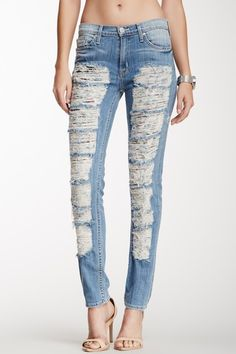 Courtney Mid Rise Skinny Jean