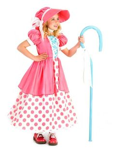 Little Bo Peep Polka Dot Costume for Girls