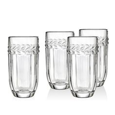 Godinger Classico 4-pc. Crystal Highball Glass Set, Ovrfl Oth