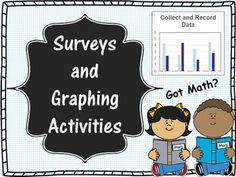 Includes 24 surveys, 24 graphs, formal lesson, and more (a few mini samples are shown)! Fun back to school activities, and a great way to introduce/review collecting & recording data! The students take ownership of their learning! This bundle is rigorous, reflects best practices, and is perfect for your observation or to review/introduce collecting and recording data.
