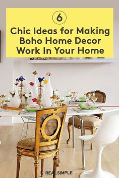 6 Gorgeous Ideas for Making Boho Home Decor Work In Your Home | Check out these great ways to bring boho home decor and modern bohemian design to your home inspired by real homes, and get ready to redecorate without fear. #realsimple #livingroomdecor #livingroomideas #details #homedecorinspo Bohemian House, Bohemian Design, Boho Designs, Modern Bohemian, Faux Fur Area Rug, Wooden Stools, Home Organization, Boho Decor, Living Room Decor