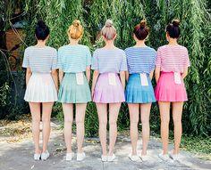 -5 Youth Skirt Vol.4  | Korean Fashion #chuu