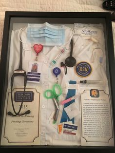Nursing School Shadow Box - TAMUC BSN