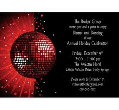 """New Pics Dance Party Invitations Designs with prepossessing layout Concepts A fresh scene publication From the world for the world"""", is the Motto of the newest downtown dan Holiday Party Invitations, Unique Invitations, Invitation Design, Invitation Cards, Birthday Invitations, 70s Party, Disco Party, Party Quotes, Christmas Cocktails"""
