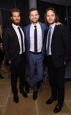 Andrew Garfield, Joshua Jackson & Taylor Kitsch