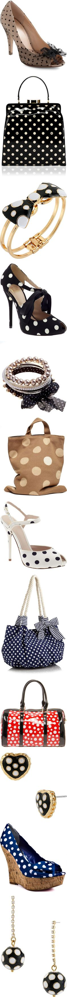 """Polka Dots......"" by mzmamie ❤ liked on Polyvore"