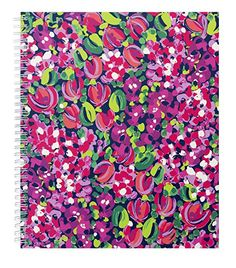 Amazon.com : Lilly Pulitzer Large Notebook, Wild Confetti (153312) : Office Products