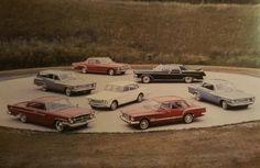 1962 Chrysler Family Cars
