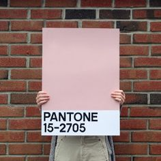 #DIY Giant Pantone cards