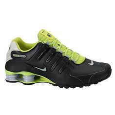 4cc8dc29bea7 NEW NIKE SHOX NZ EU Black Venom Green MENS Limited RARE 501524 031   NikeShox