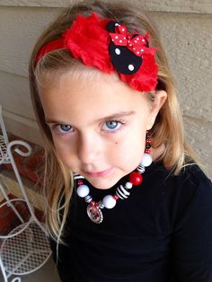 Minnie+Headband+Minnie+Mouse+Headband++Chic+by+BibsBurpsNThings,+$11.00