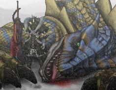 Fonds d'écran Jeux Vidéo > Fonds d'écran Monster Hunter saga Wallpaper N°317298 par lwolf97 - Hebus.com