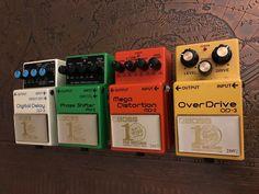 My BOSS anniversary pedals