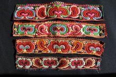 Gamle broderte forklebånd fra Reiergård, Lykkja i Hemsdal_Norway Folk Costume, Costumes, Folk Embroidery, Flower Embroidery, Ethnic Design, Unique Flowers, Traditional Outfits, New Art, Fiber Art