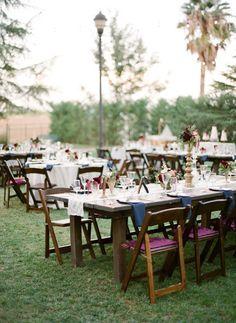 Pretty jewel tones: http://www.stylemepretty.com/2015/05/20/autumn-inn-at-park-winters-wedding/ | Photography: Lacie Hansen - http://laciehansen.com/