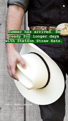 c98c47a5b77a6 40 Best Straw Cowboy Hats by Stetson images