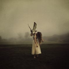 Los Angeles-based photographer Brooke Shaden definitely knows how to capture mystically surreal moments, as we've seen in the past. She manages to find a s