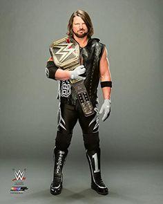 AJ Styles - WWE Photo (2016 posed, WWE Champion) 8x10