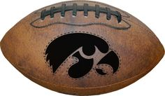 Iowa Hawkeyes Football - Vintage Throwback - 9 Inches