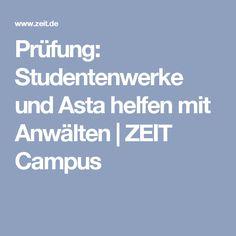 Prüfung: Studentenwerke und Asta helfen mit Anwälten | ZEIT Campus
